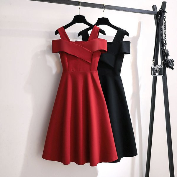 2021 new plus size womens clothing fat sister fashion temperament dress women cover belly thin waist skirt women summer Apparel Womens Clothing Dresses Casual Dresses Runway Dresses
