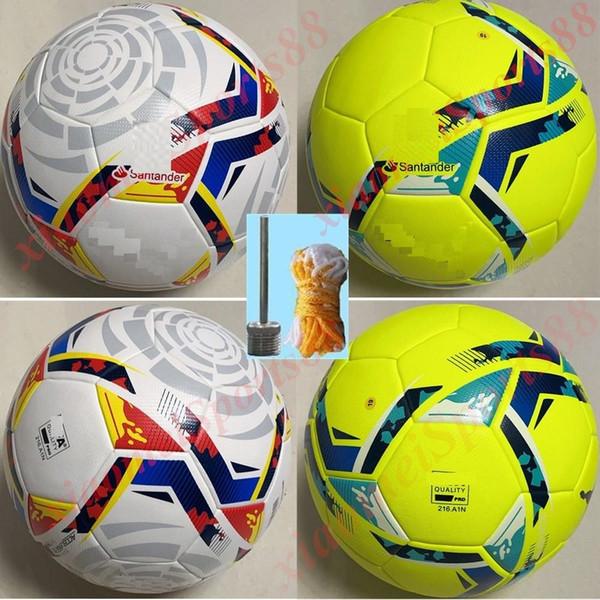 top popular 20 21 Best quality Club La Liga League match Soccer ball 2020 2021 size 5 balls granules slip-resistant football Free shipping high quality 2021