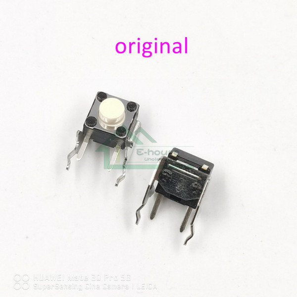 heap Replacement Parts & Accessories 200PCS for LB RB Bumper Buttons Switch LBRB Micro Button Switch for Xbox 360 Xbox one Controller Rep...