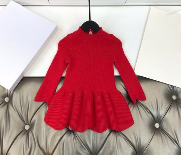 top popular 2021 New Boys girls Sweaters Baby Kids Clothes Autumn Winter Tops New Children Sweaters Boy Clothing 2021