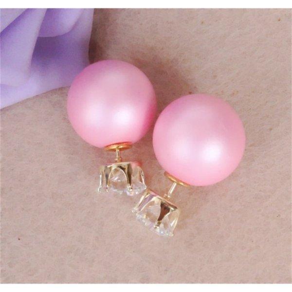 Chão rosa 8mm verdadeiro zircão