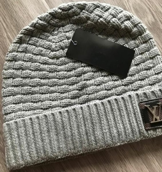 top popular Hot neutral hat knit hat fall winter outdoor man knit cap embroidery warm man sport woman knit cap 2021