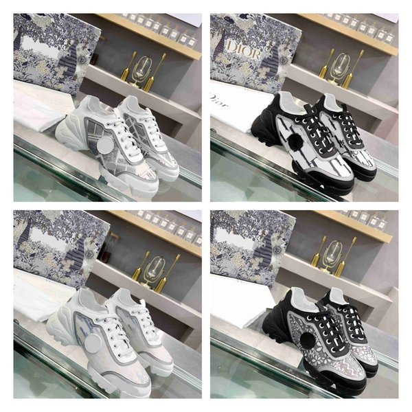 top popular luxury one-piece sports shoes designer high quality wholesale high-end printing fashion retro casual shoes black and white nudeNoble 2021
