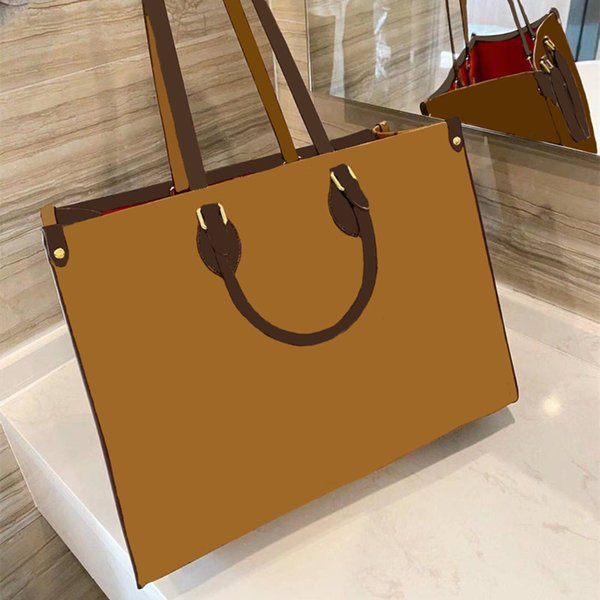 top popular 2021 Fashion Ladies Handbag Shopping Bag Large Capacity High Quality Leather Luxury Brand Classic Pattern Design 2021