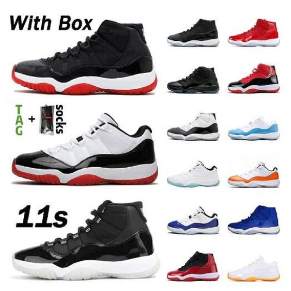 best selling New 11 low white bred 11s jumpman basketball shoes heiress night maroon pantone think 16 white snake rose gold men women sneakers