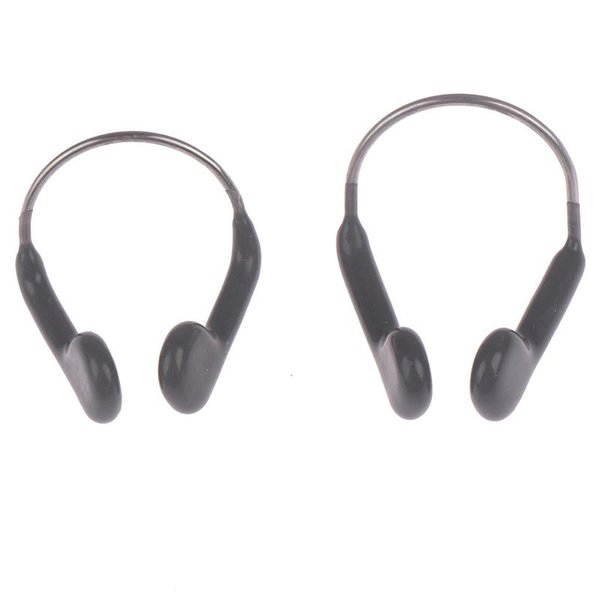 top popular Durable No-skid Soft Silicone Steel Wire Nose Clip for Men Women Children Summer Swimming Diving Equipment 2021