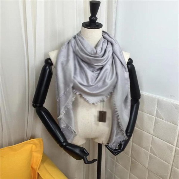 best selling Hot Scarf For women Letter Pattern cashmere with Thick Scarfs Warm Scarves Size 140X140CM No Box