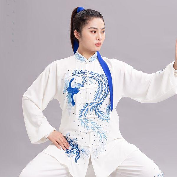 Traditional Chinese Clothing Taiji Long Sleeved Wushu Taichi Men Kungfu Uniform Suit Uniforms Tai Chi Exercise Clothing 12456 Apparel Ethnic Clothing DIY Clothing Mens Clothing Womens Clothing