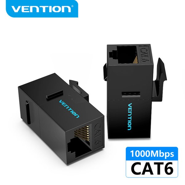 Omputer Office Computer Computer Cables Connectors Vection RJ45 Разъем Cat6 Ethernet Adapter Женщина для женщин R J45 8P8C Network Ex ...