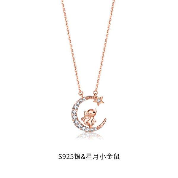Douze collier de rat zodiac-925 argent
