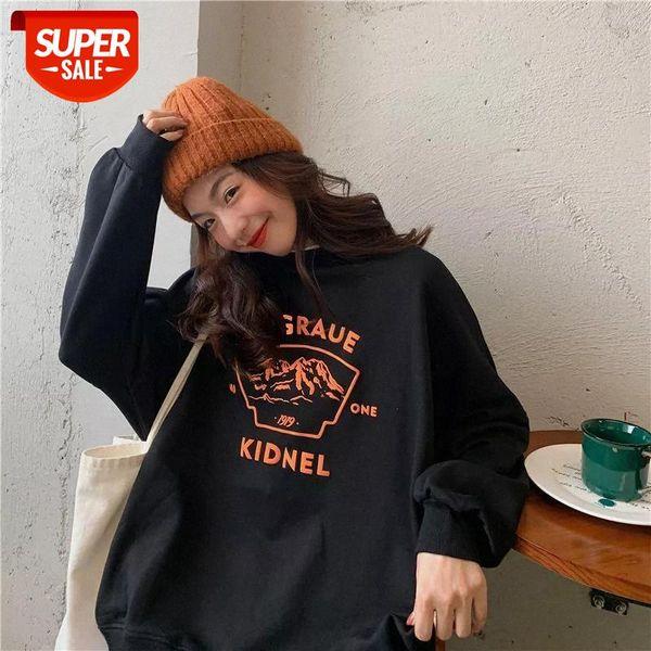 best selling Streetwear plus size sweatshirt women winter autumn Korean style loose 2020 new thin jacket oversized harajuku hoodie #mK3k