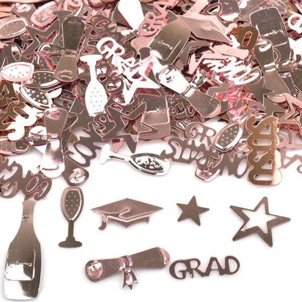 top popular 15g bags Rose Gold Congrats Doctoral Cap Confetti DIY Graduation Decorations Graduate Party Supplies Props Photos 60g 2021