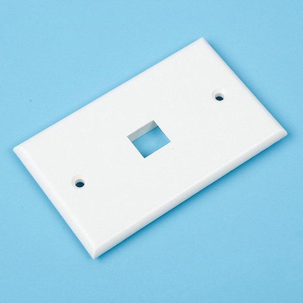 US Plug - 1 Port Faceplate