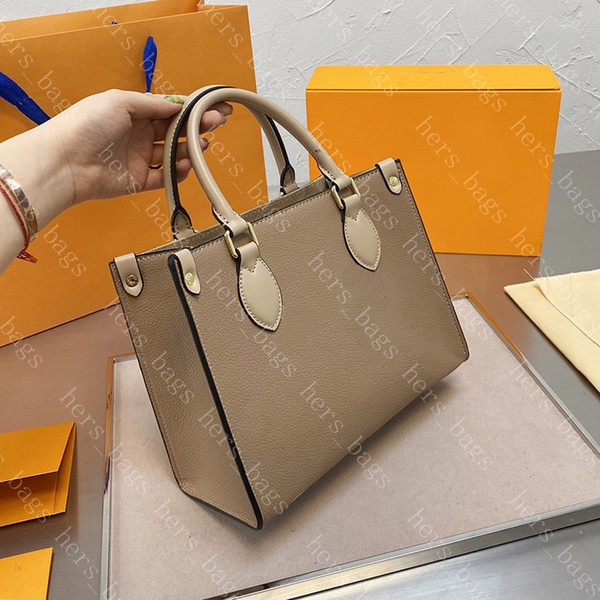 Fashion Small Totes Women Luxurys Designers Bags 2021 On The Go Lady Casual Tote Womens Handbags With Flower Street