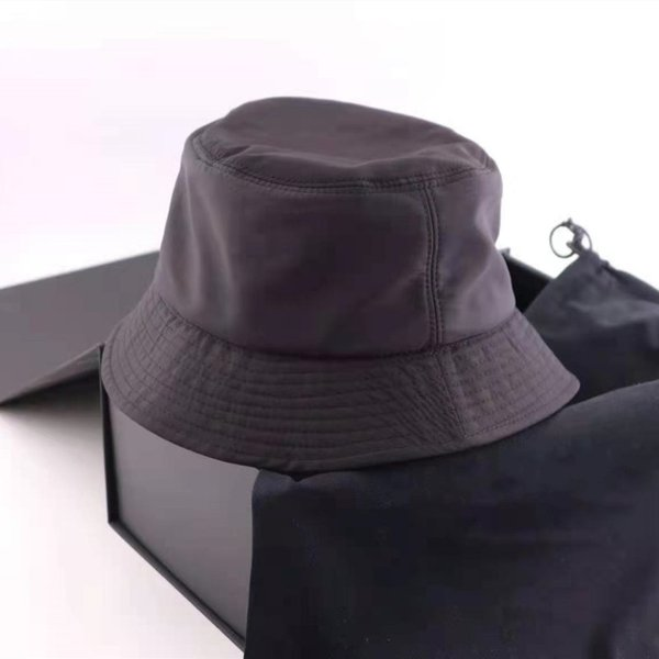 top popular Fashion Bucket Hat Cap Men Woman Hats Baseball Cap Beanie Casquettes 4 Color Top Quality 2021
