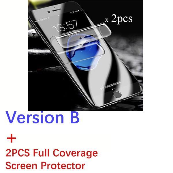 Versione B + 2pcs Copertina completa Soft SP