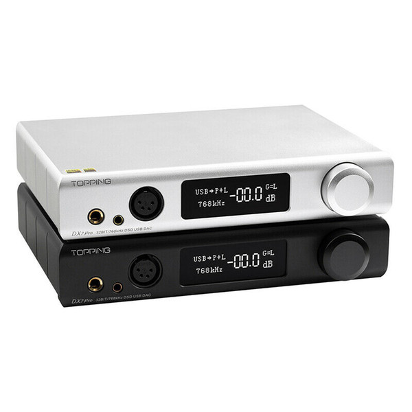 best selling NEW CAR Topping DX7Pro ES9038PRO Bluetooth 5.0 LDAC Hi-Res Audio DAC&Headphone Amplifier