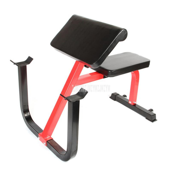 top popular Professional Dumbbell Bench Arm Muscle Training Chair Barbell Arm Weight Lifting Stool Biceps Brachii Exercise Fitness Equipment 2021