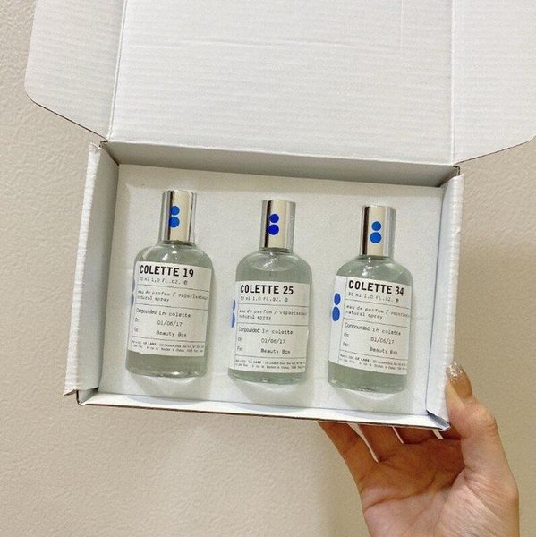 best selling Classic new Perfume sets LE LABO DISCOVERY SET COLETTE 19 25 34 Parfum EDP 30ml*3 natural spray long and lasting fresh Fragrance Medium perfumes