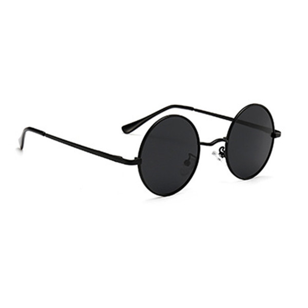 best selling Polarized Round Sunglasses Trends 2021 Fashion Men's Sun Glasses Unusual Brands Luxury Imitation Vintage Style Shades Vogue