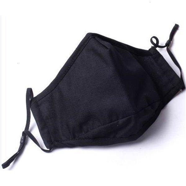 Masque noir Sans vanne