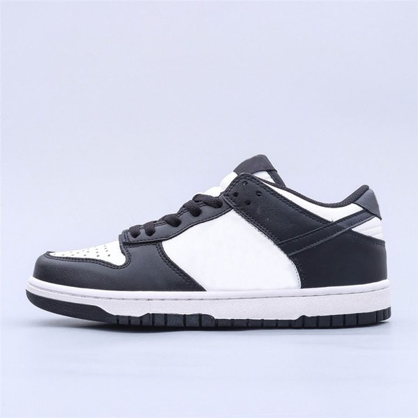 best selling Classic Dunks Low Black White Skateboard Shoes Men Women Basketball Sports Designer Sneakers Trainers Size US5.5-US12
