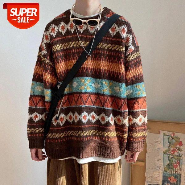 best selling BiggOrange Sweater Women Teens Knitwear All-match Thicker Fall Spring Popular Ladies Pullovers Vintage Chic Ins Harajuku sweater #QT6q