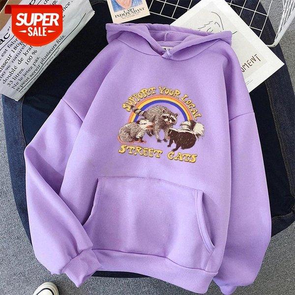 best selling 2021 BiggOrange Print Female tops Sweatshirt Women Full Sleeve Hoodies Kawaii Winter Pullovers oversized Cute Cartoon clothes #Us4q
