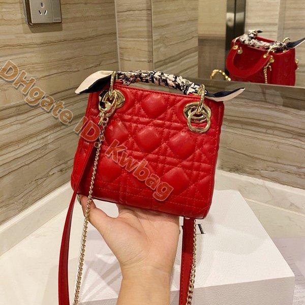 top popular 2021 Ladies Fashion Handbags high quality Multi Pochette putse leather Women Flap Bag Purses shoulder luxurys designers chain crossbody bags messenger mini Totes 2021