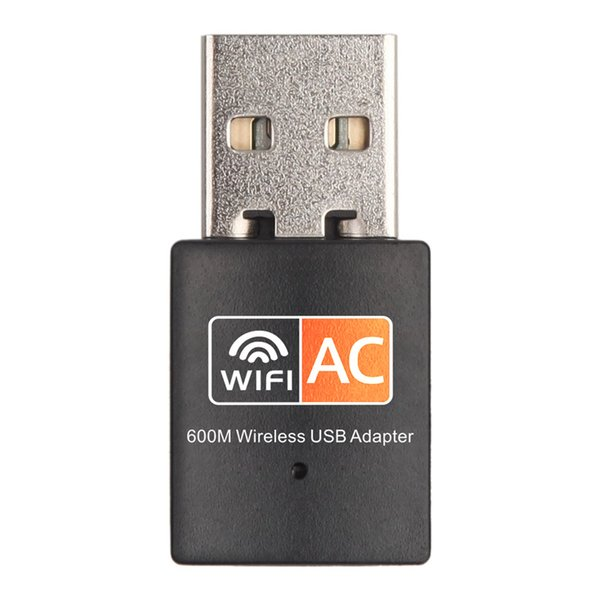 top popular High Quality 600Mbps Dual Band RTL8811CU Wireless Network Card USB Wifi Adapter For Desktop Laptop 2021