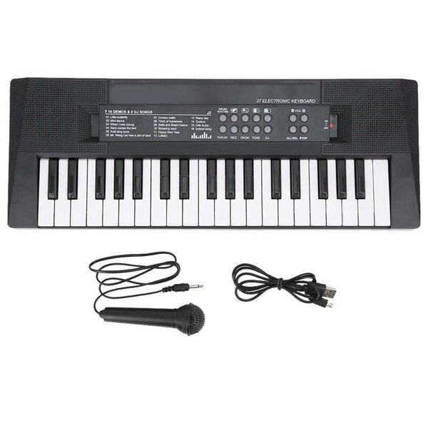 best selling BF-3738 Electric Keyboard Key Board 37 Key Electric Piano Microphone Recording Function Electric Organ Children Gift