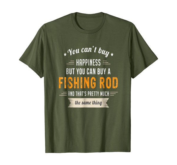 Can't Buy Happiness Can Buy a Fishing Rod Same Thing T-Shirt