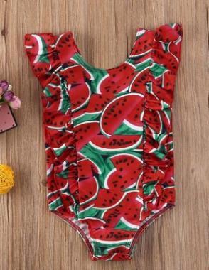 #1 Printed Toddler Beachwear