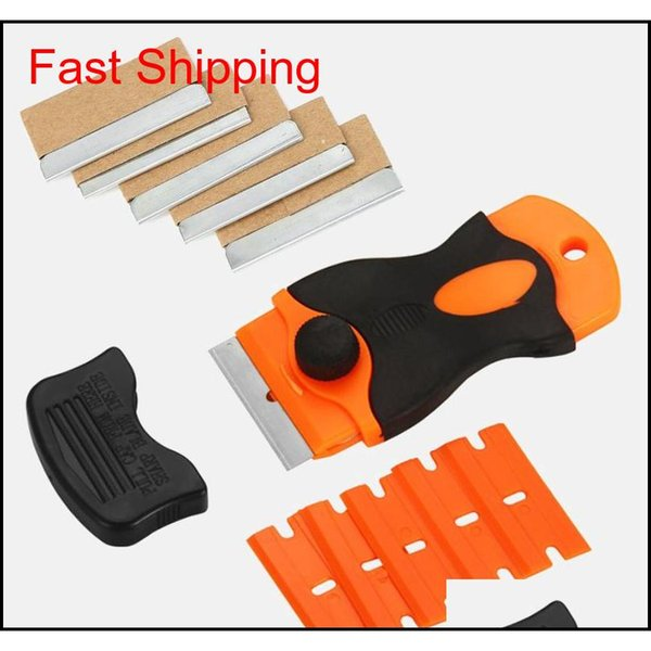 best selling Squeegees Car Tint Plastic Handle Razor Scraper Ceramic Glass Oven Window Tinting Tool Blade Zt8Tx Izbyp