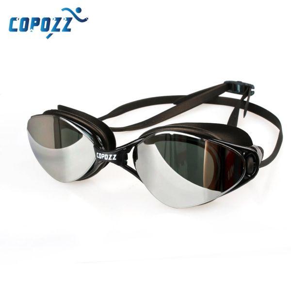 best selling Brand New Professional Swimming Goggles Anti-Fog UV Adjustable Plating Men Women Waterproof Silicone Swim Glasses Adult Eyewear 210305