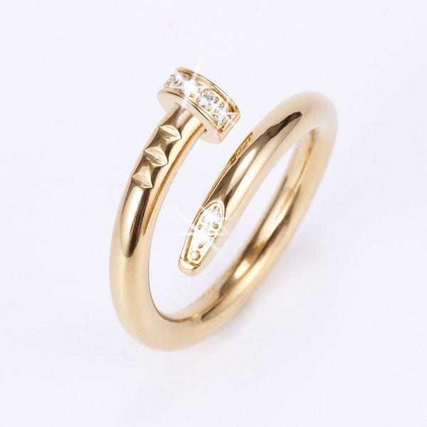 De oro con diamantes
