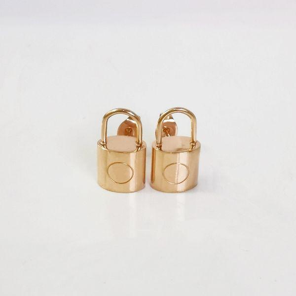 Earrings_rose золото