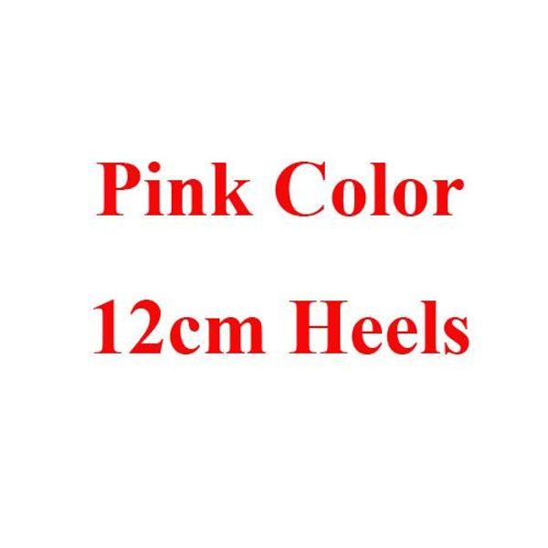 Pink 12cm Heels
