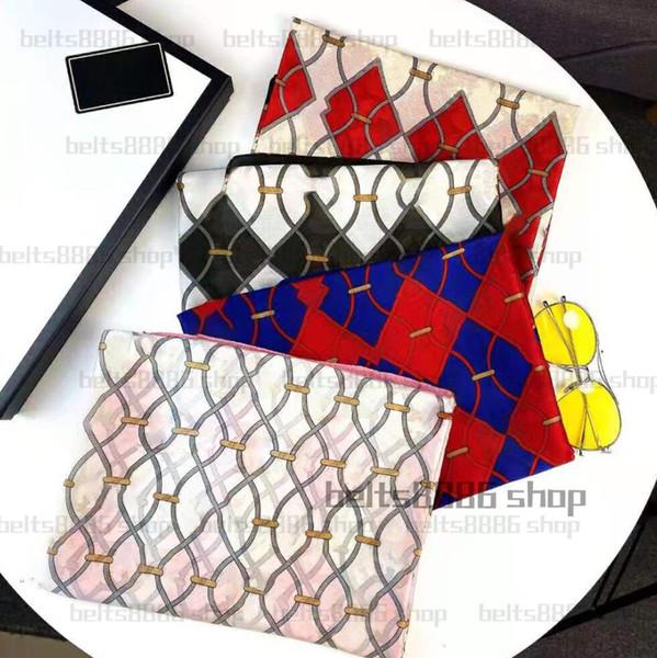best selling 2021 New Fashion Women Four Seasons Scarves Slender Velvet Scarf 180*70cm Scarf Shawl Classic gold silk alphabet scarf