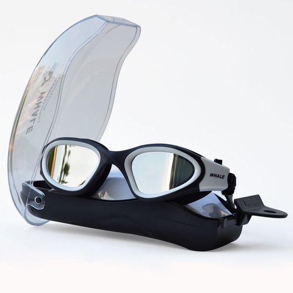 top popular Anti-fog uv Anti-ultraviolet Men Women Swimming Glasses Eyewear Waterproof Adjustable Silicone swim Goggles for swimming 210305 2021