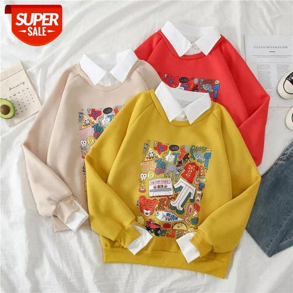 best selling kawaii harajuku oversize hoodies winter clothes streetwear women korean style long sleeve clothes women Casual Pullovers tops #RM6R