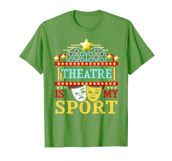 Theatre Is My Sport Actor Actress Singer Theater Entertainer T-Shirt