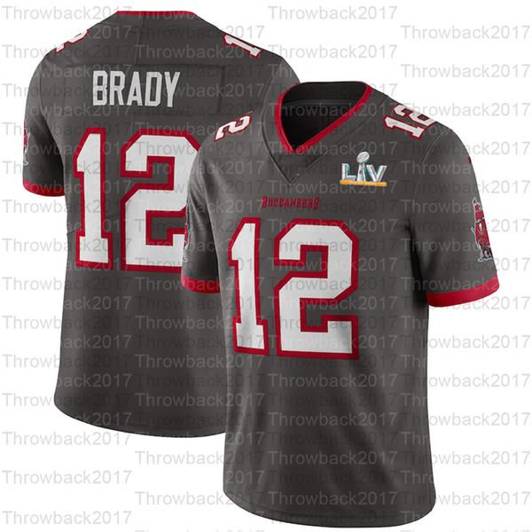 12 Tom Brady / Gray