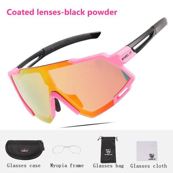 Coated lenses-Black powder(03#)