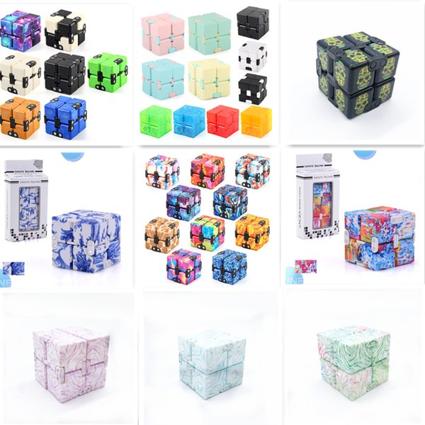best selling Decompression toy infinite cube flip pocket cubes Mini Puzzle Stress Anxiety Relief Fidgets Toys for Adults Child Family