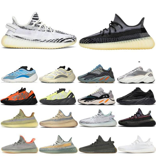 best selling 2021 TOP Quality Kanye West Mens Shoes Sulfur Asriel Desert Sage Tail Light Linen Marsh Israfil Static Cinder Women Sneakers