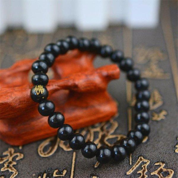 schwarzer Buddha