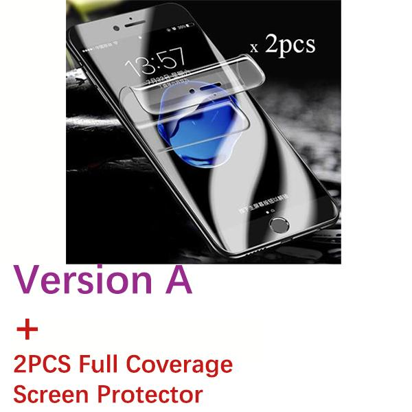 Versione A + 2pcs Cover Piena Soft SP