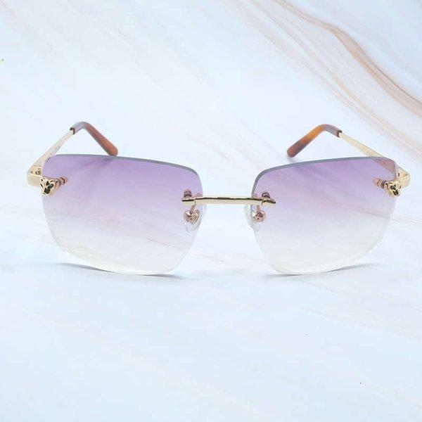 Oro púrpura cuadrada