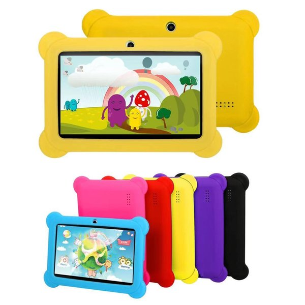 top popular Quad-core 7-inch Q88 children's tablet with Bluetooth, phone card, 8g+512 memory, high-definition display screen, learning tablet 2021